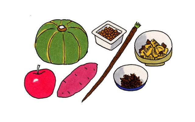 食物繊維の1日の必要量はどれくらい?不足と摂りすぎはどうなる?