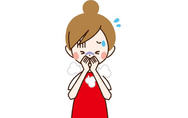 大掃除でくしゃみや喉の痛みが。対処法を教えて!
