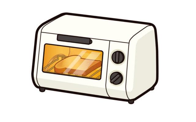 オーブントースターを大掃除