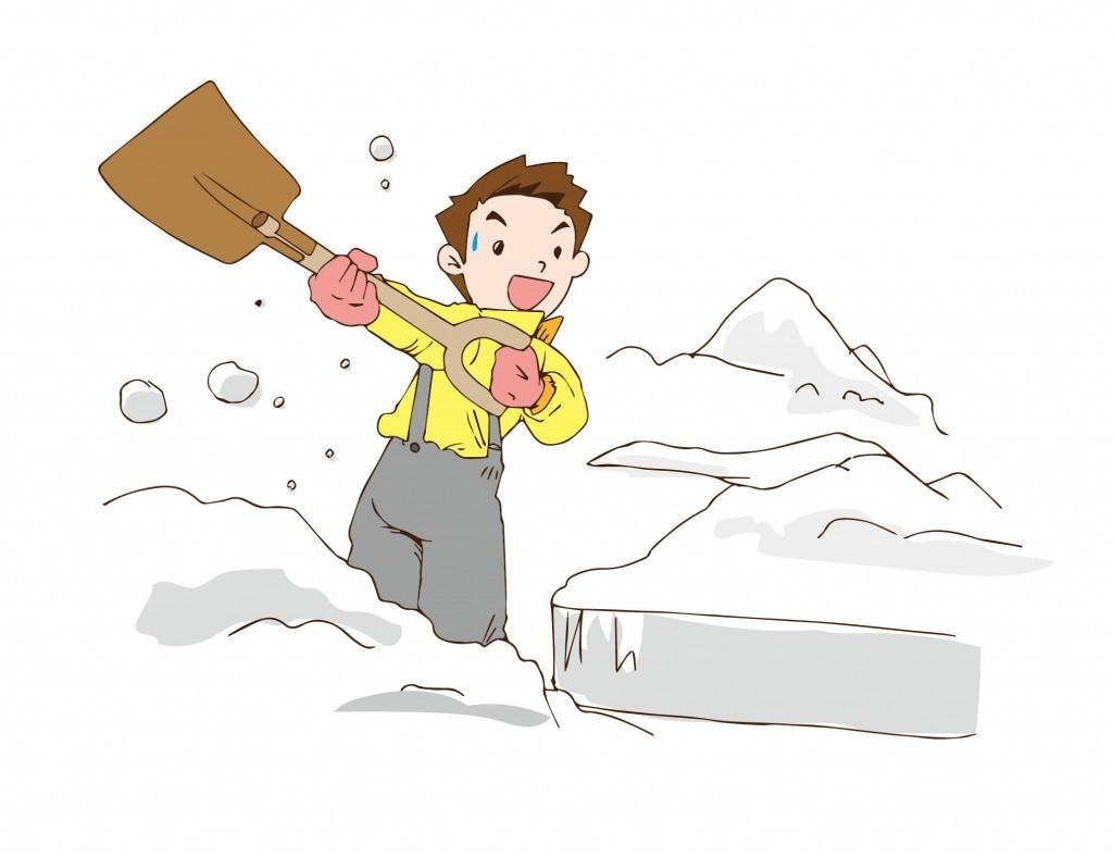 雪かきのやり方