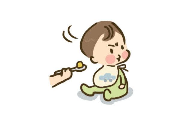 1歳の子が離乳食のご飯をまったく食べないのでイライラ。原因は?このままで大丈夫?