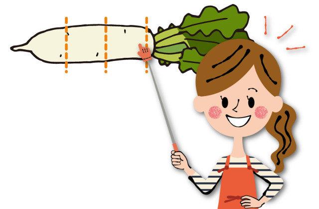 大根の部位の使い分けを教えて!甘い・辛い・栄養の違いはあるの?