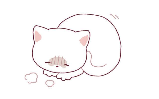 猫がよく吐く