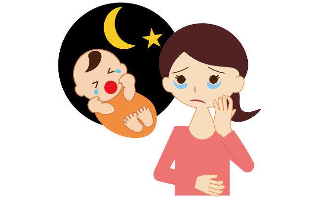 夜泣きの平均はどれくらい?いつからいつまで?悩みはどこに相談すればいいの?