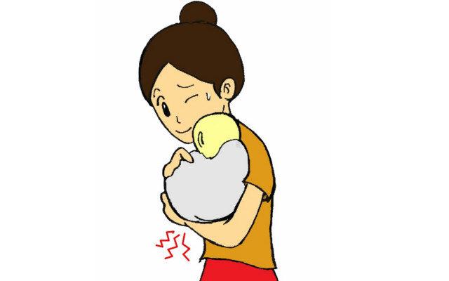 産後の育児で腱鞘炎に。抱っこが辛い!治し方・予防法を教えて!