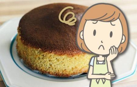 ケーキのスポンジが膨らまない!キメが粗い!こんな失敗を防ぐには?