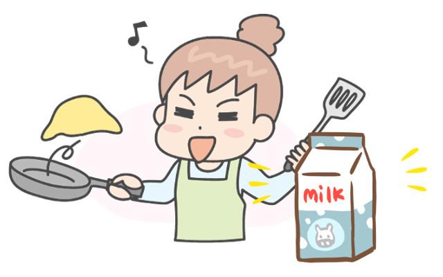 オムレツは牛乳なしても作れるの?ふわふわにできる?