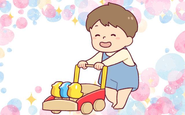 赤ちゃんの手押し車って必要?使えるのはいつから?