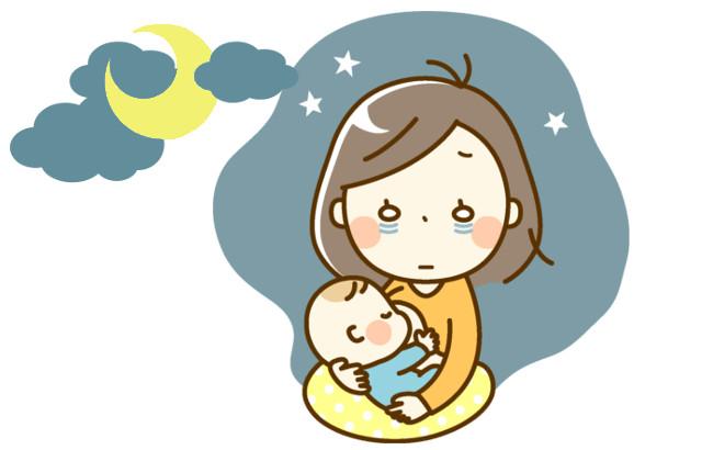 夜間授乳で睡眠が細切れに。睡眠不足はいつまで続くの?
