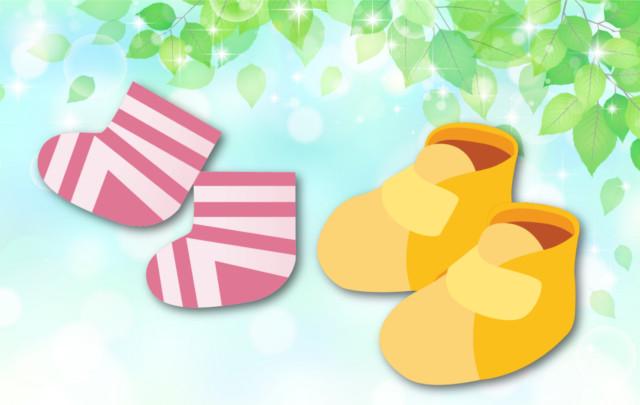 夏生まれの赤ちゃんに靴下や靴の準備は必要?