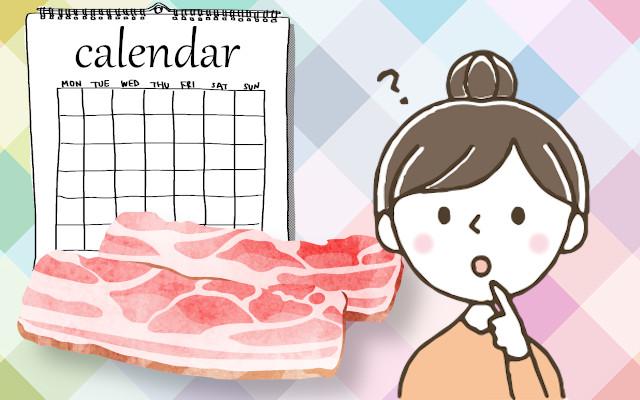 ベーコンの日持ちはどれくらい?賞味期限や保存方法を教えて!