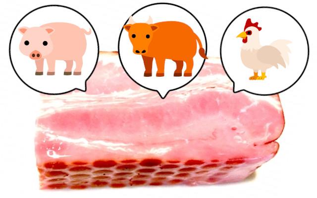 ベーコンは何の肉?牛肉・豚肉・鶏肉?