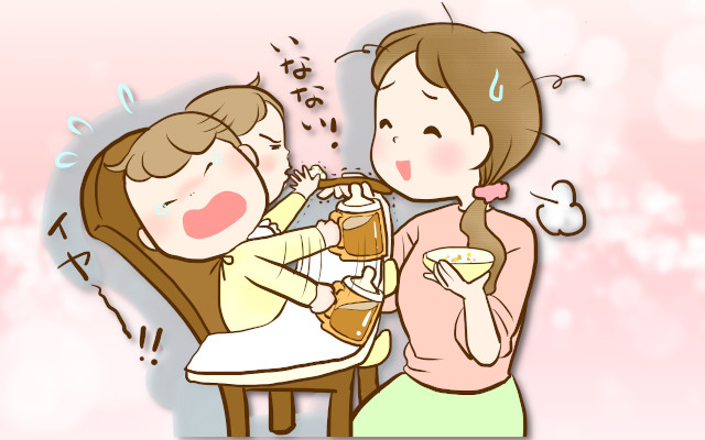 離乳食が薄味だと食べてくれない。薄味ってどのくらいが目安?