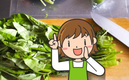 空心菜は下茹でやあく抜きが必要?