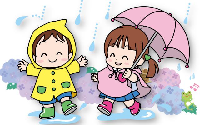 子供の雨具はレインコートとポンチョどっちがいい?
