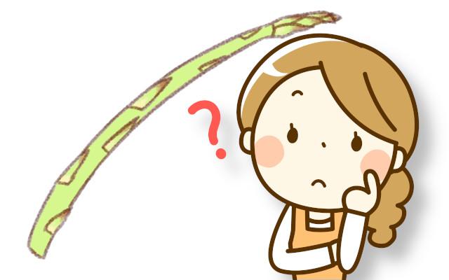 アスパラガスを栽培したけど、芽が細く変形をしている!原因と対処法を教えて
