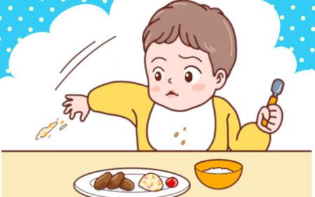 離乳食を始めた赤ちゃんが食器や食べ物をわざと投げる理由と対処法は?