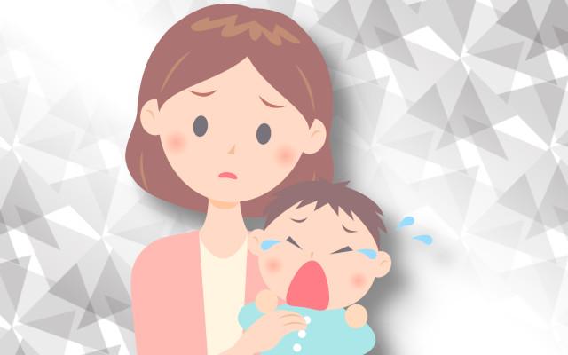 離乳食を食べた後に泣き出す赤ちゃん。どうしてなの?