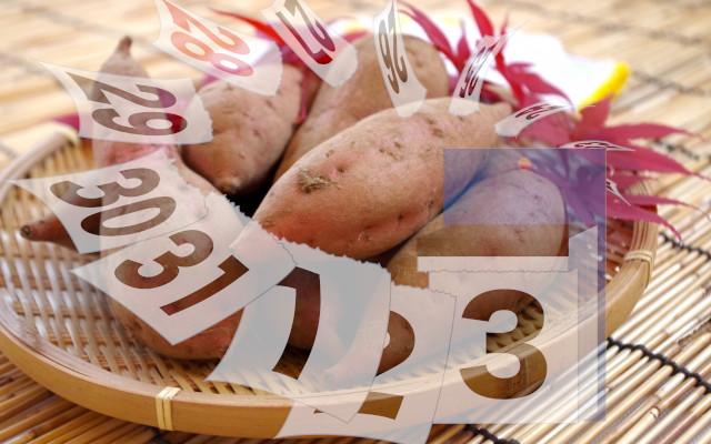 安納芋の日持ちはどれくらい?賞味期限やベストな保存方法を教えて!