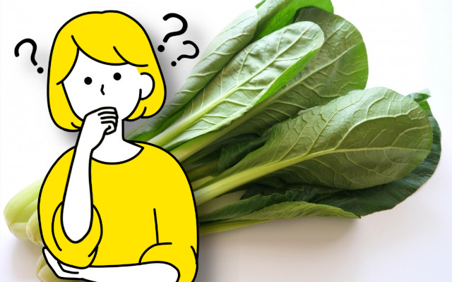 小松菜がぬるぬるして、ぬめりがある。これは何故?腐ってるの?