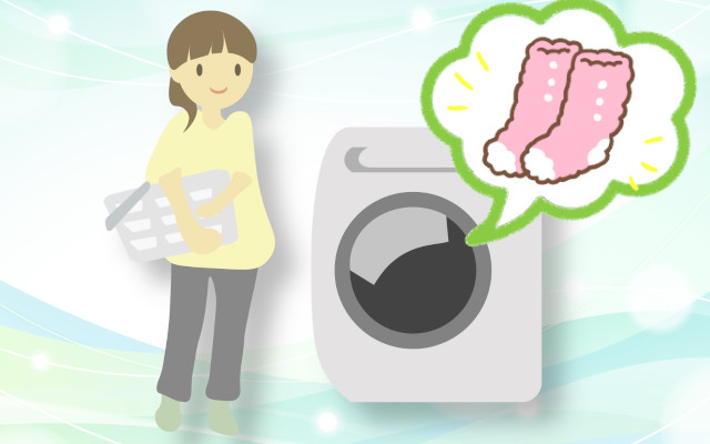 もこもこの靴下を上手に洗濯したい!ふわふわを維持するコツを教えて!